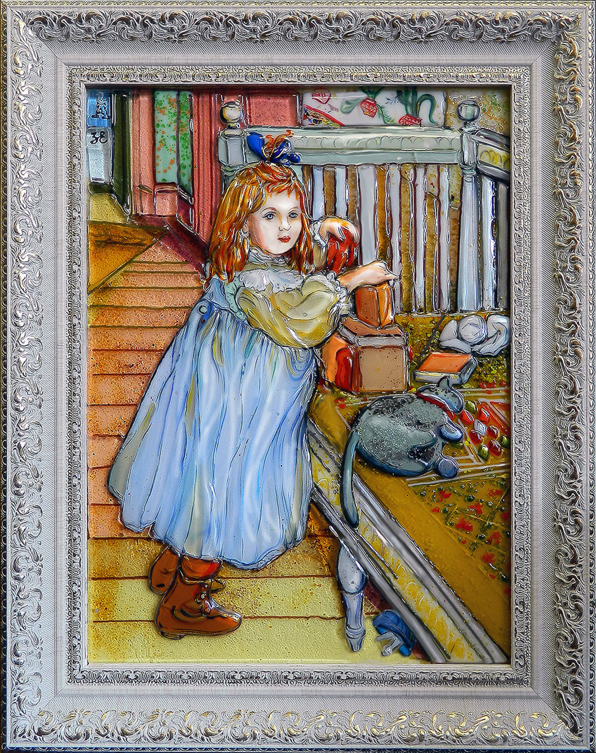 Картины из стекла Карл Ларсон