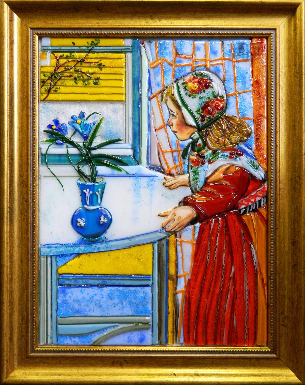 Карл Ларссон — Солнце и цветы