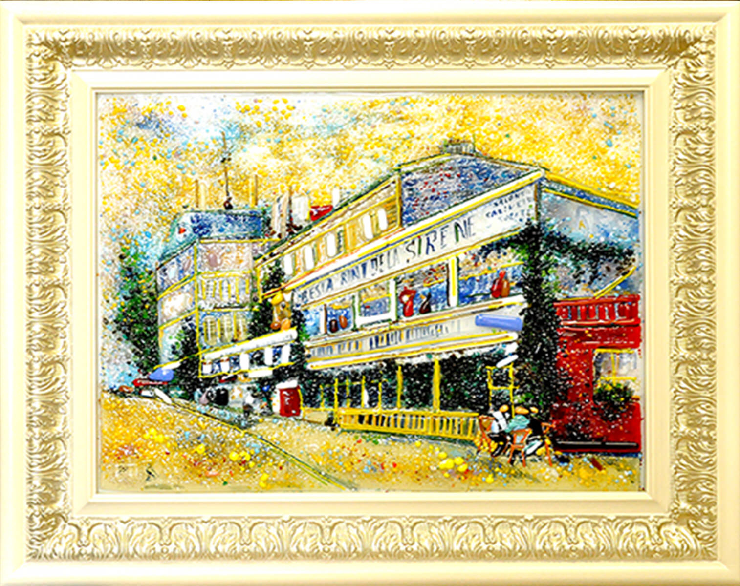 Винсент Ван Гог — Ресторан «Сирена» в Аньере