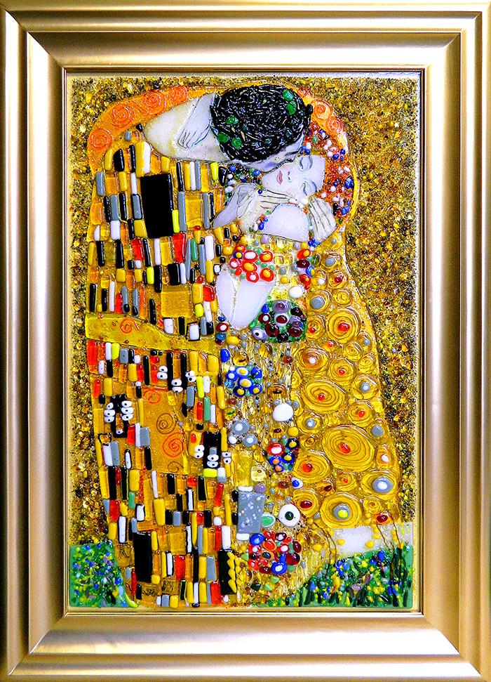 Густав Климт — Поцелуй