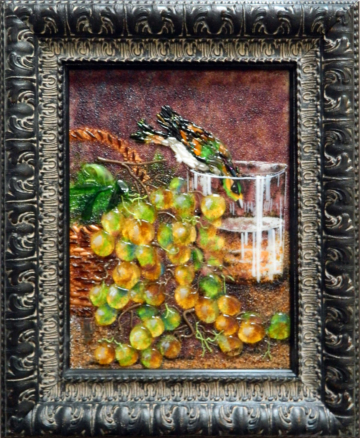 Иван  Хруцкий - Плоды и птица
