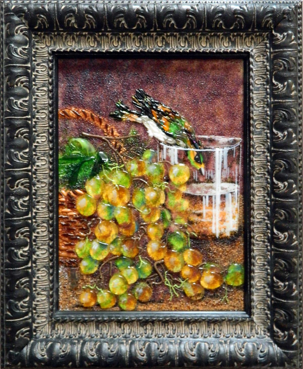 Иван  Хруцкий — Плоды и птица