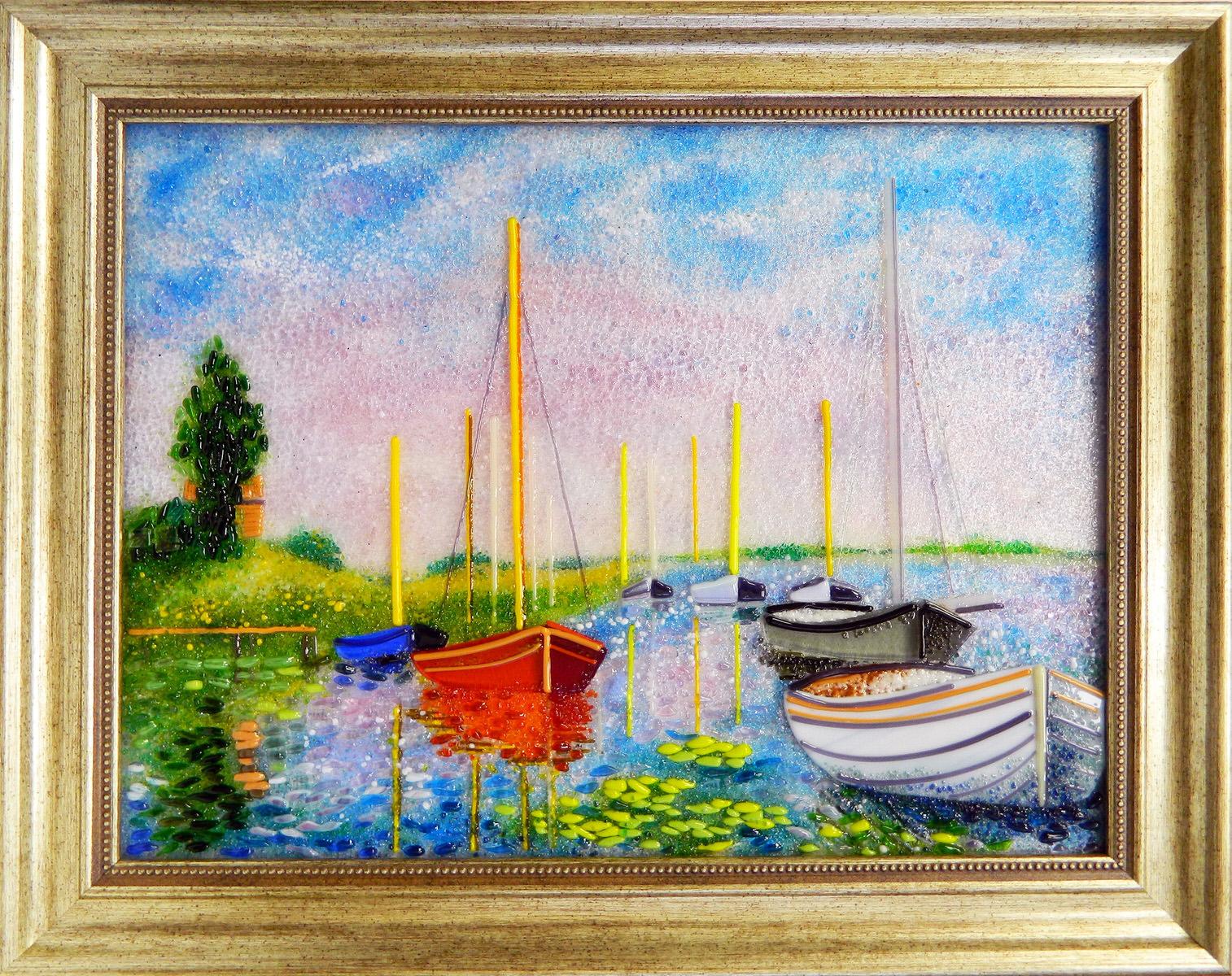 Клод Моне - Парусные лодки в Арджантее