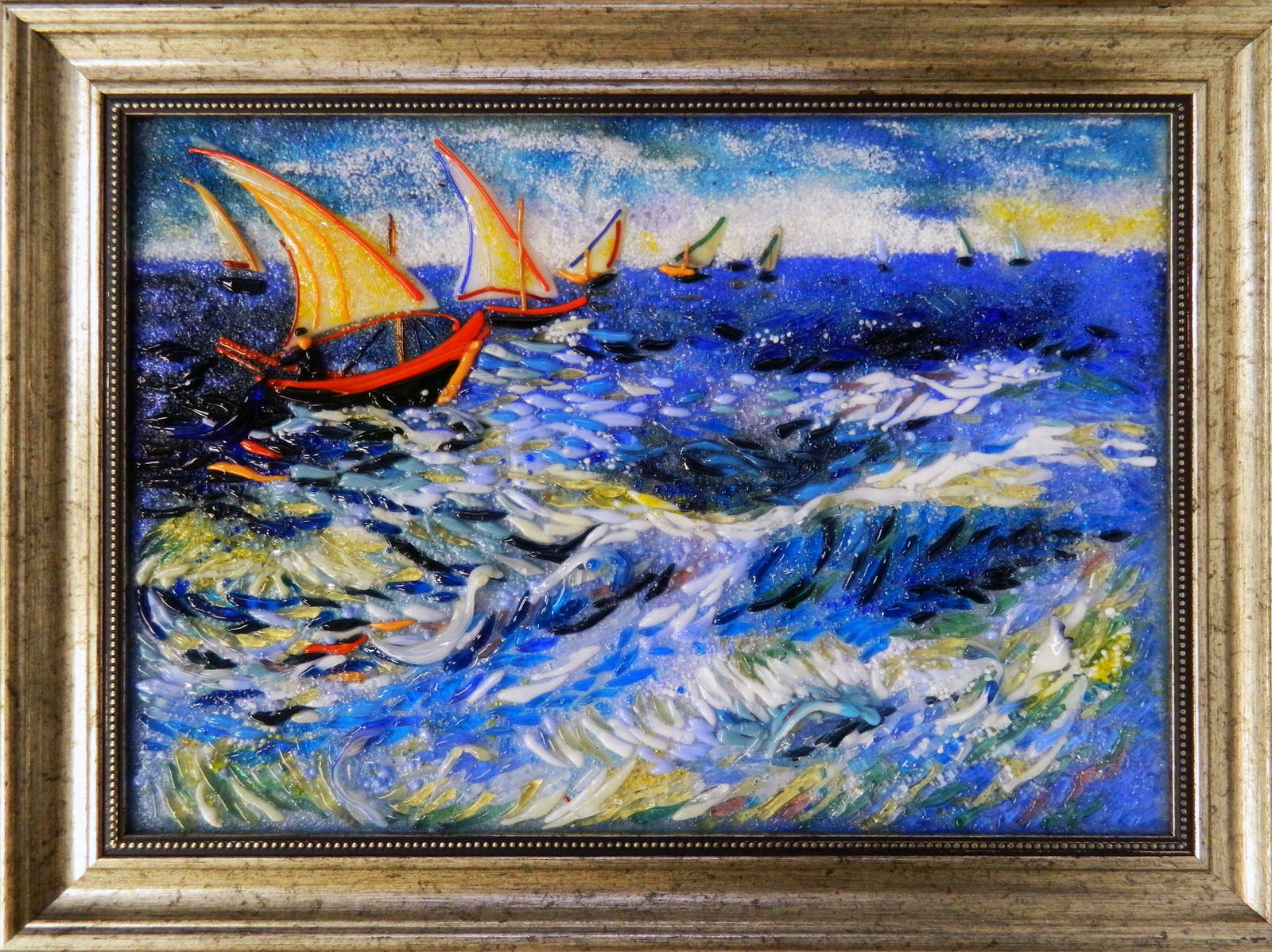 Винсент Ван Гог — Море в Сент-Мари