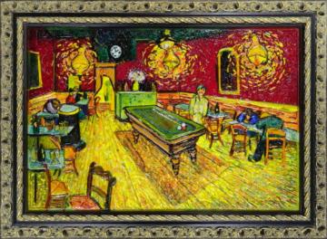 Винсент Ван Гог - Ночное кафе на площади Ламартин в Арле