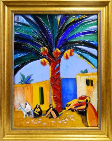 Мартирос  Сарьян - Финиковая пальма. Египет