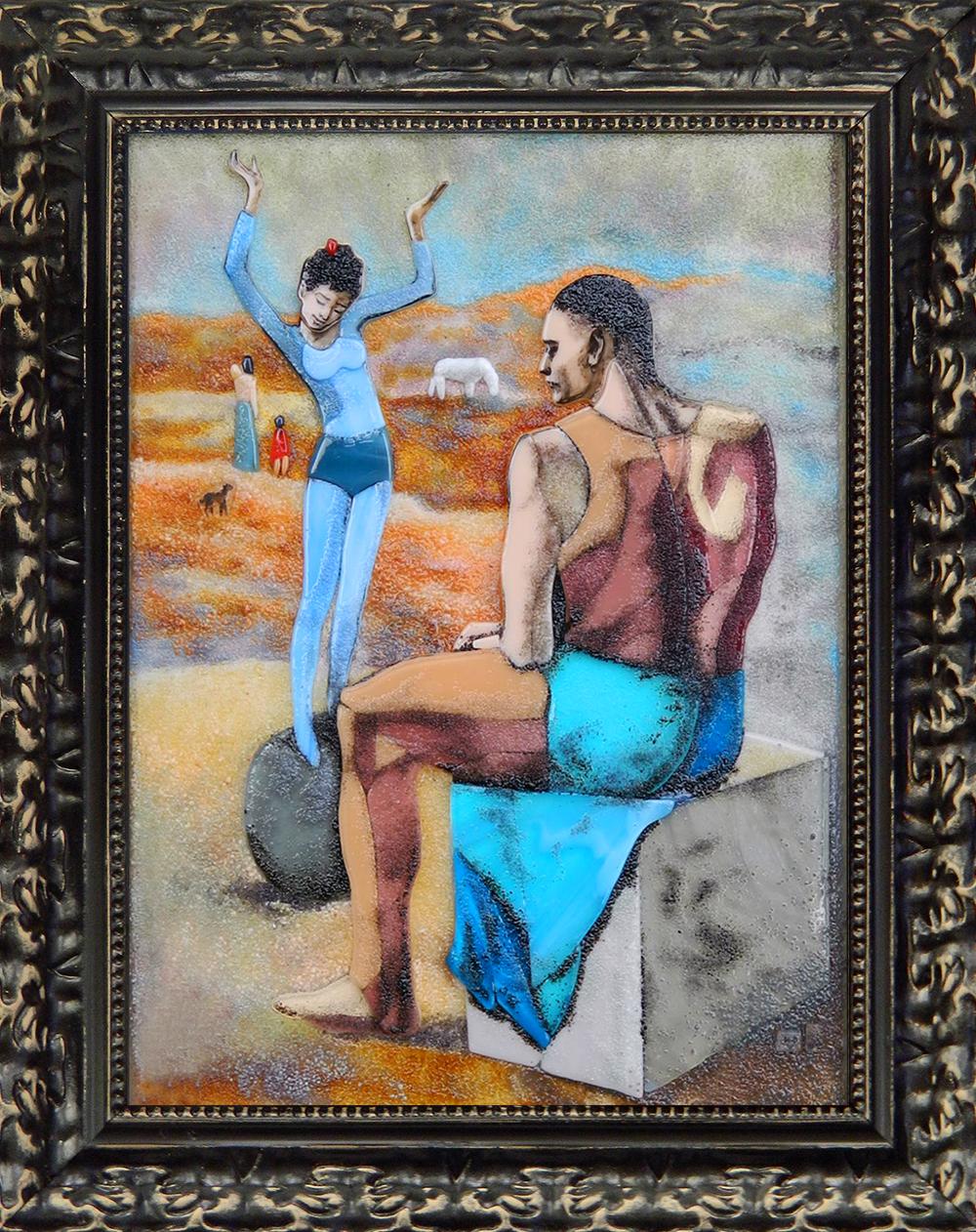 Пабло Пикассо — Девочка на шаре