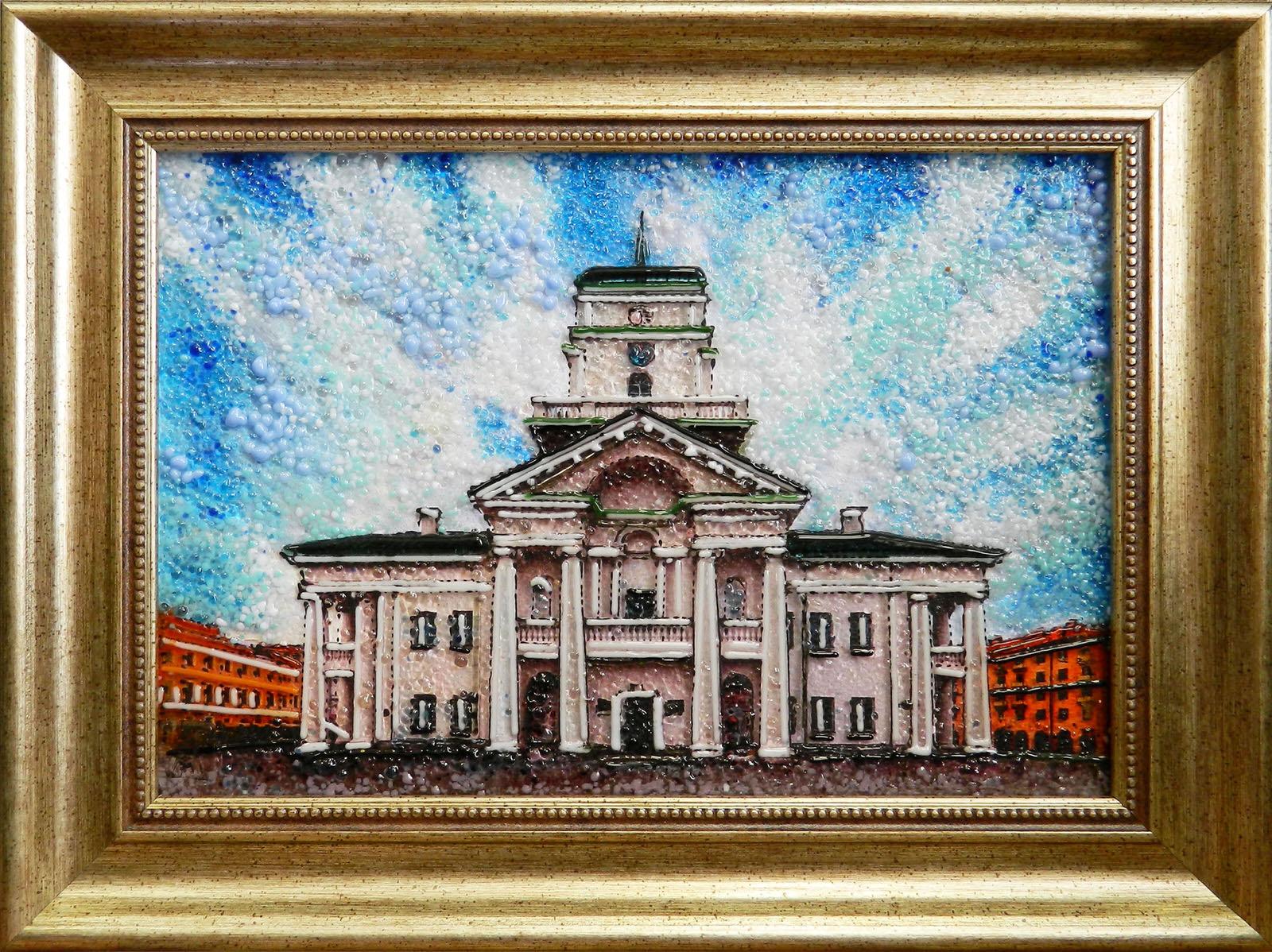 Минская городская ратуша (фронтальный вид)