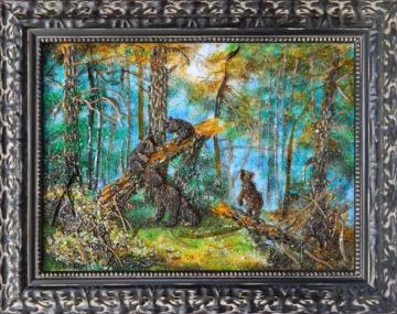 Иван Шишкин - Утро в сосновом лесу