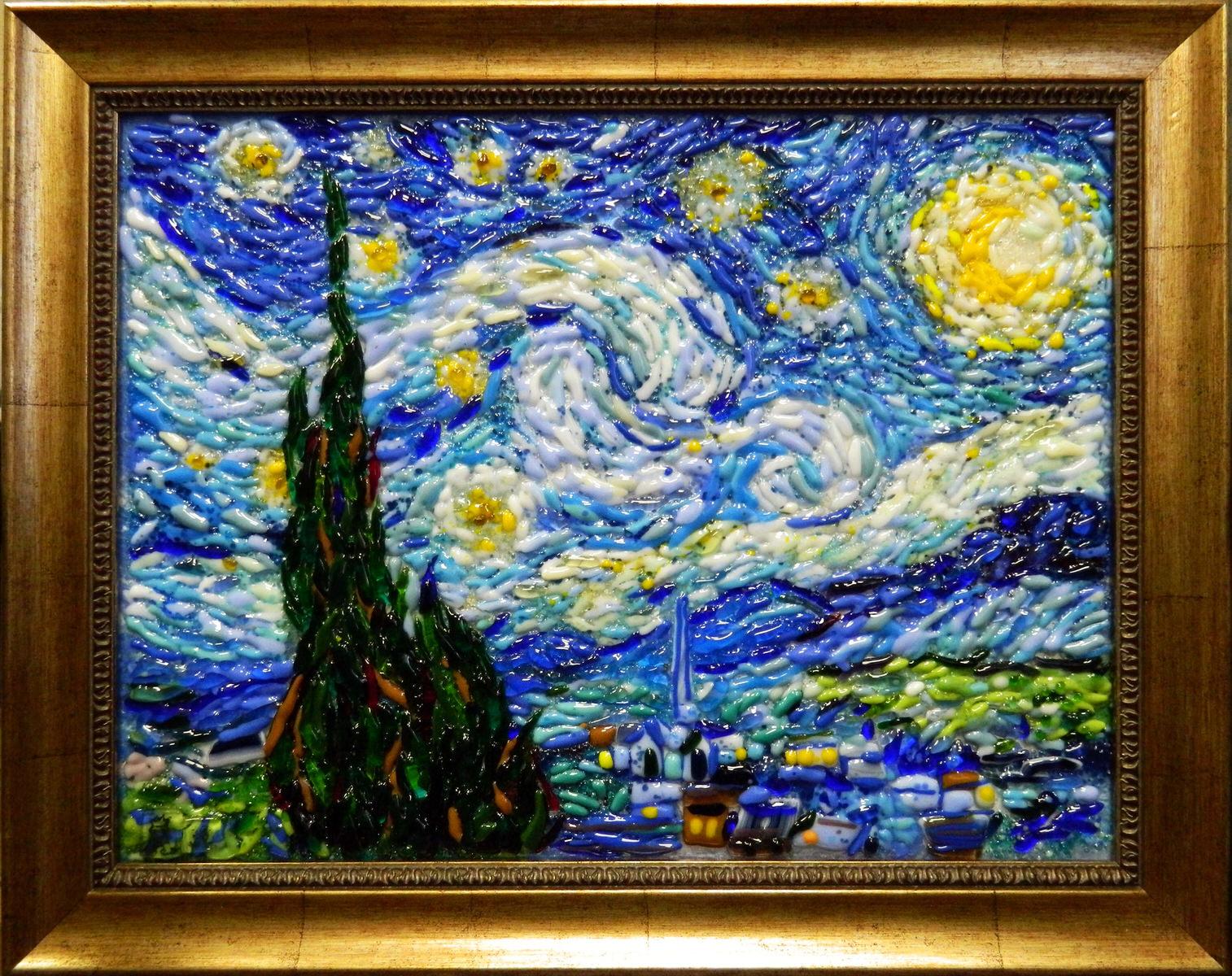 Винсент Ван Гог — Звёздная ночь