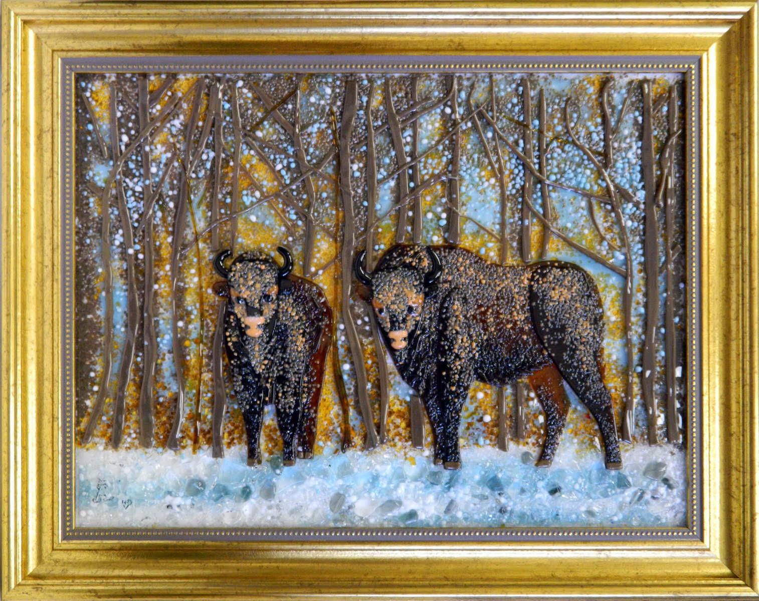 Зима в Беловежской пуще