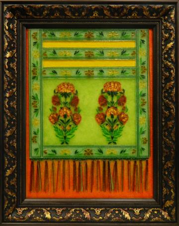 Картина из стекла слуцкий пояс