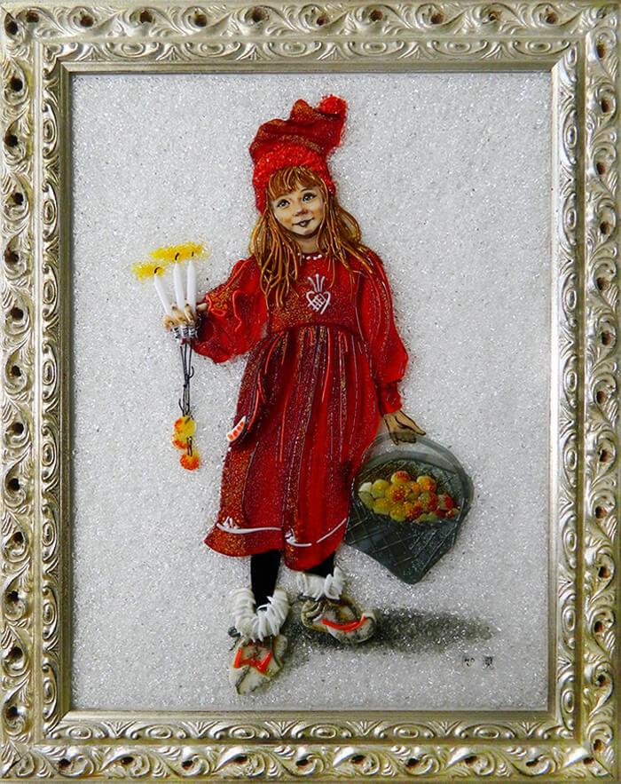 Карл Ларссон «Свечи в руках»