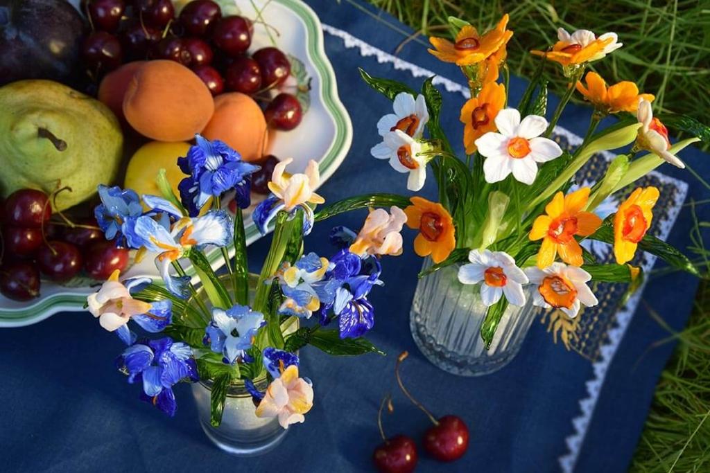 Стеклянные цветы: красота, которая не увядает