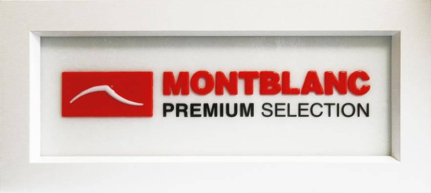 Логотип Montblanc