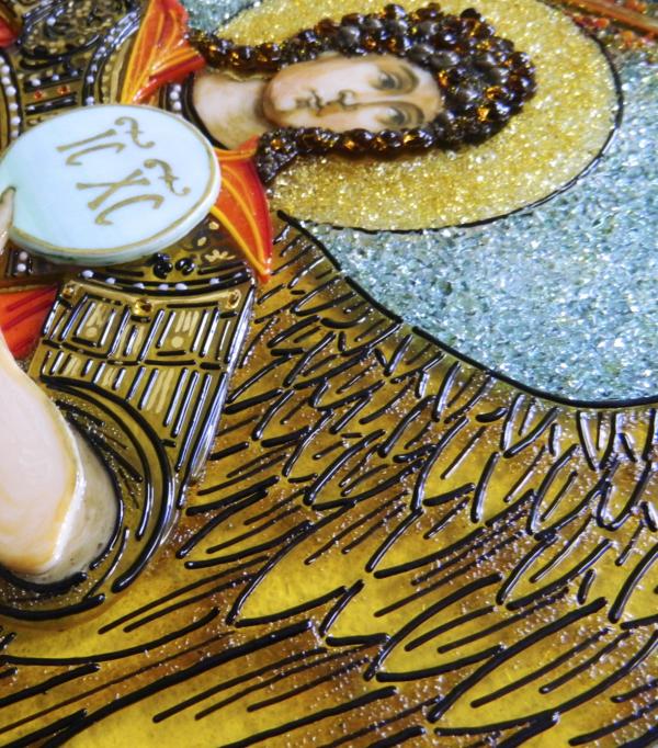 Икона из стекла «Архаргел Михаил»