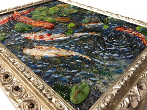 Картина «Золотые рыбки»