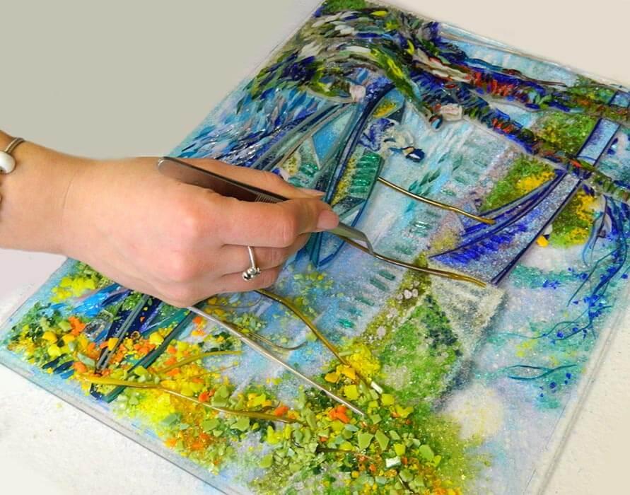 Фьюзинг: история превращения стекла в искусство